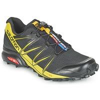 鞋子 男士 跑鞋 Salomon 萨洛蒙 SPEEDCROSS PRO 黑色 / 黄色