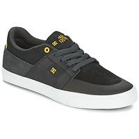 鞋子 男士 球鞋基本款 DC Shoes WES KREMER 黑色 / 灰色 / 黄色