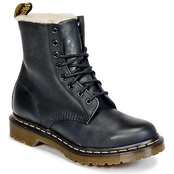 鞋子 女士 短筒靴 Dr Martens SERENA 黑色