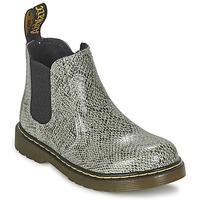 鞋子 儿童 短筒靴 Dr Martens BANZAI ASP 灰色 / 米色