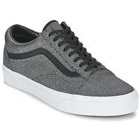 鞋子 女士 球鞋基本款 范斯 OLD SKOOL 黑色 / Délavé