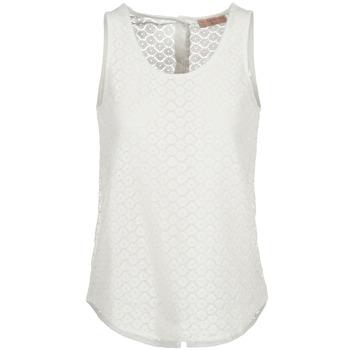 衣服 女士 无领短袖套衫/无袖T恤 Moony Mood IGUOHIAVINE 白色