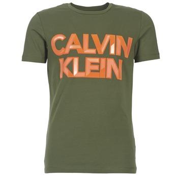 衣服 男士 短袖体恤 Calvin Klein Jeans TERRAIN CN SLIM FIT 卡其色