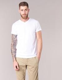 衣服 男士 短袖体恤 B.O.T.D ECALORA 白色
