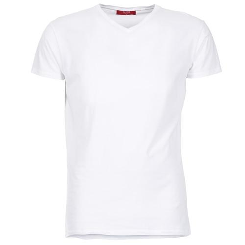 衣服 男士 短袖體恤 B.O.T.D ECALORA 白色