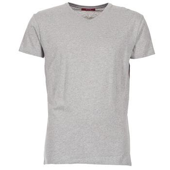 衣服 男士 短袖体恤 B.O.T.D ECALORA 灰色 / 中国红