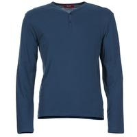 衣服 男士 长袖T恤 B.O.T.D ETUNAMA 海蓝色
