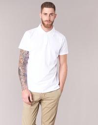 衣服 男士 短袖保罗衫 B.O.T.D EPOLARO 白色