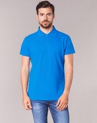 衣服 男士 短袖保罗衫 B.O.T.D EPOLARO 蓝色