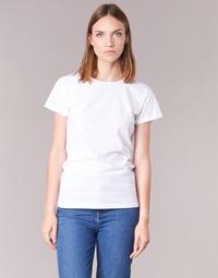 衣服 女士 短袖体恤 B.O.T.D EQUATILA 白色
