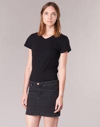 衣服 女士 短袖体恤 B.O.T.D EFLOMU 黑色