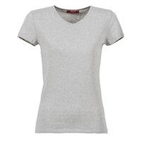 衣服 女士 短袖体恤 B.O.T.D EFLOMU 灰色 / 中国红