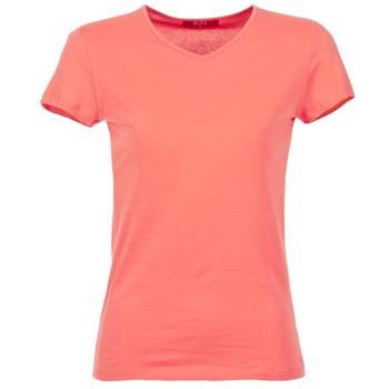衣服 女士 短袖体恤 B.O.T.D EFLOMU 珊瑚色