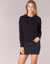 衣服 女士 长袖T恤 B.O.T.D EBISCOL 黑色