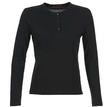 衣服 女士 長袖T恤 B.O.T.D EBISCOL 黑色