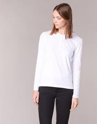 衣服 女士 長袖T恤 B.O.T.D EBISCOL 白色