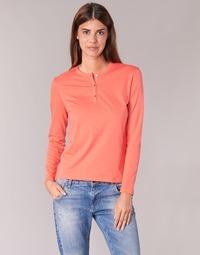 衣服 女士 长袖T恤 B.O.T.D EBISCOL 橙色