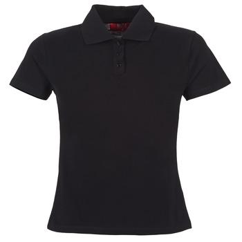 衣服 女士 短袖保罗衫 B.O.T.D ECLOVERA 黑色