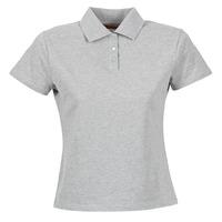衣服 女士 短袖保罗衫 B.O.T.D ECLOVERA 灰色 / 中国红