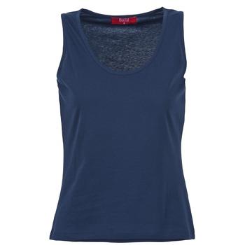 衣服 女士 无领短袖套衫/无袖T恤 B.O.T.D EDEBALA 海蓝色