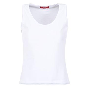 衣服 女士 无领短袖套衫/无袖T恤 B.O.T.D EDEBALA 白色