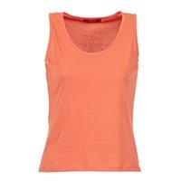 衣服 女士 无领短袖套衫/无袖T恤 B.O.T.D EDEBALA 珊瑚色