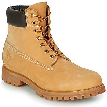 鞋子 男士 短筒靴 Timberland 添柏岚 PREMIUM BOOT 6'' 棕色