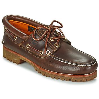 鞋子 男士 船鞋 Timberland 添柏嵐 3 EYE CLASSIC LUG 棕色