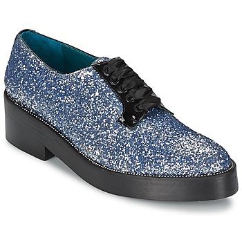 鞋子 女士 德比 Sonia Rykiel 索尼亚·里基尔 676318 蓝色 / 银色