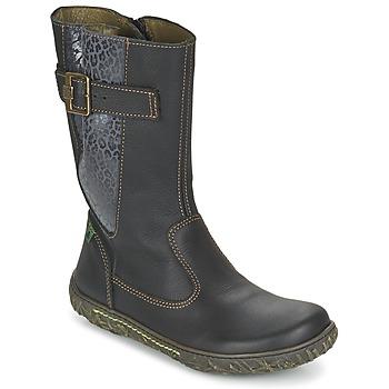 鞋子 女孩 都市靴 El Naturalista NIDO 黑色