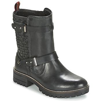 鞋子 女士 短筒靴 Pepe jeans HELEN 黑色