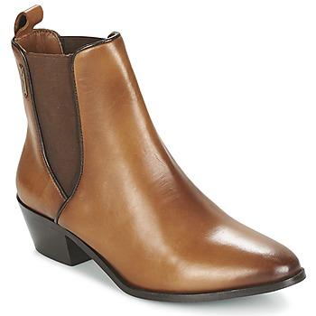 鞋子 女士 短靴 Pepe jeans DINA 棕色