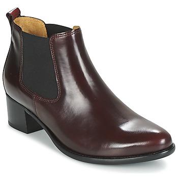 鞋子 女士 短靴 Gabor 嘉宝 AURICH 波尔多红
