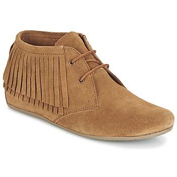 鞋子 女士 短筒靴 Maruti MIMOSA 驼色