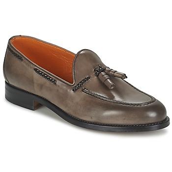 鞋子 男士 皮便鞋 J Wilton  深色 / 橙红色