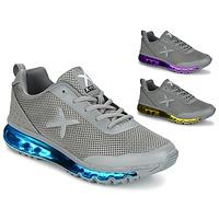 鞋子 男士 球鞋基本款 Wize & Ope X-RUN 灰色
