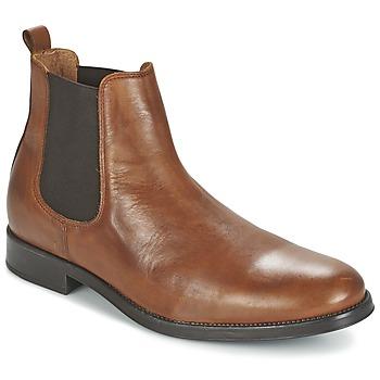 鞋子 男士 短筒靴 Selected 思莱德 SHDOLIVER CHELSEA BOOT NOOS 棕色