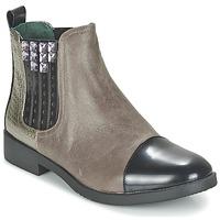 鞋子 女士 短筒靴 Café Noir BARBERINE 灰褐色