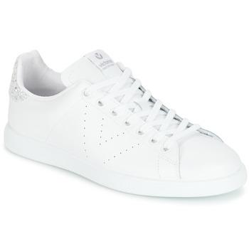 鞋子 女士 球鞋基本款 Victoria 维多利亚 DEPORTIVO BASKET PIEL 白色 / 银色