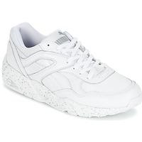 鞋子 男士 球鞋基本款 Puma 彪马 R698 SPECKLE 白色 / 银色