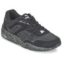 鞋子 男士 球鞋基本款 Puma 彪马 R698 SPECKLE V2 黑色 / 银色