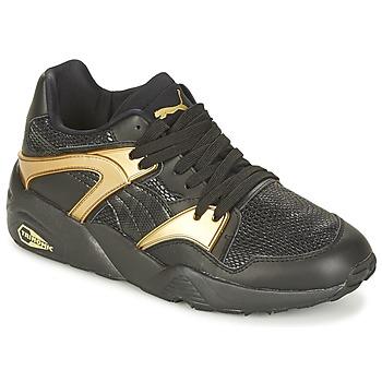 鞋子 女士 球鞋基本款 Puma 彪马 BLAZE GOLD WN'S 黑色 / 金色