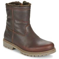 鞋子 男士 短筒靴 Panama Jack 巴拿马 杰克 FEDRO 棕色