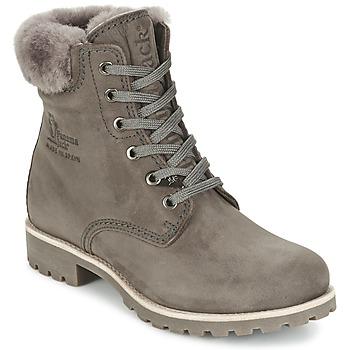 鞋子 女士 短筒靴 Panama Jack 巴拿马 杰克 PANAMA 灰色