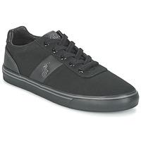 鞋子 男士 球鞋基本款 Polo Ralph Lauren HANFORD-NE 黑色