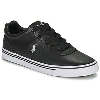 鞋子 男士 球鞋基本款 Polo Ralph Lauren HANFORD 黑色