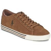 鞋子 男士 球鞋基本款 Ralph Lauren HARVEY 棕色