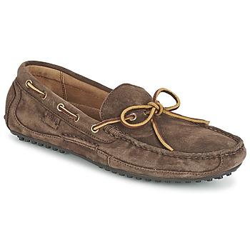 鞋子 男士 皮便鞋 Polo Ralph Lauren WYNDINGS 棕色