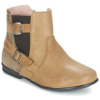 鞋子 女孩 短筒靴 Aster DESIA 米色