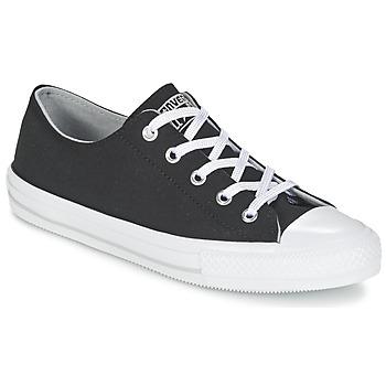 鞋子 女士 球鞋基本款 Converse 匡威 GEMMA TWILL OX 黑色